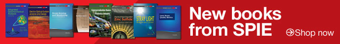 See all the new books from SPIE | Shop now