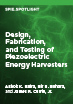 Design, Fabrication, and Testing of Piezoelectric Energy Harvesters