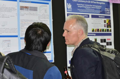 SPIE Defense, Security, and Sensing poster session