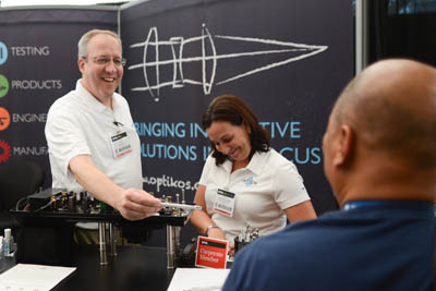 SPIE Optics + Photonics exhibition