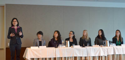 Women in Optics panel