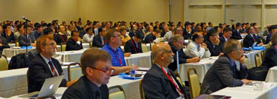 SPIE Smart Structures and Nondestructive Evaluation plenary audience