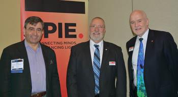 Eric Mazur, Glenn Boreman, Eugene Arthurs at SPIE Defense + Commercial Sensing