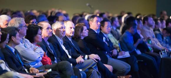 plenary session audience, SPIE Defense + Commercial Sensing 2016