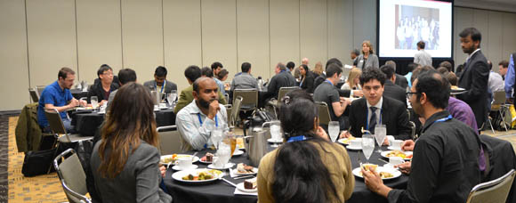 SPIE Defense + Commercial Sensing student lunch with experts