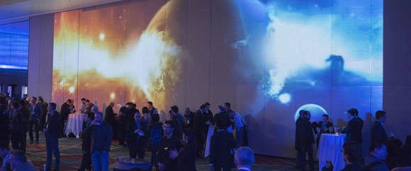 """Optics and photonics is not just a multidisciplinary field. It is a multisensory experience as well, as the """"Musical Side of Science"""" theme of Monday evening's welcome reception illustrated."""