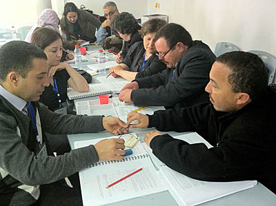 ALOP participants in Tunisia, 2012