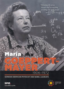 Maria Goeppert-Mayer IYL2015 postcard