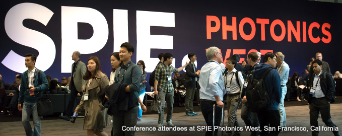 Conference Attendees at SPIE Photonics West