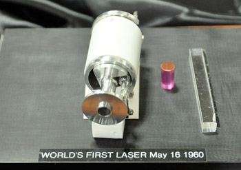Maiman model of first laser