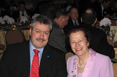 Michael Mertin and Maria Yzuel, Prism Awards 2009
