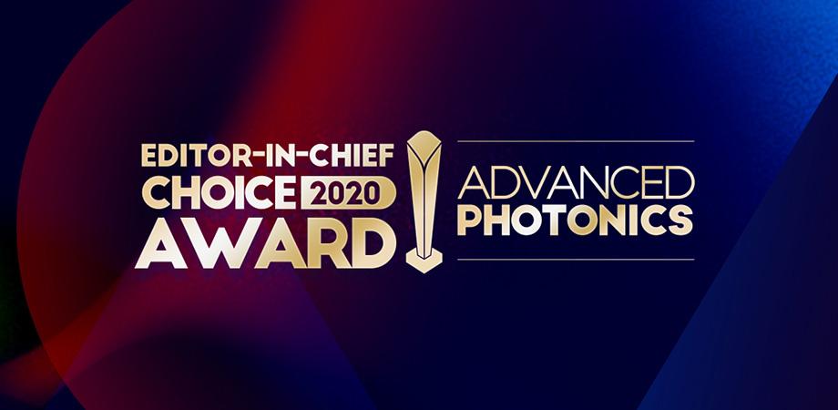 Advanced Photonics Editor-in-Chief Choice Awards image