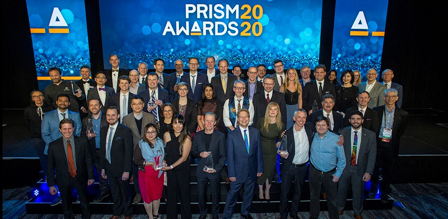 WINNING VISIONS: The 2020 Prism Award winners, presenters, and judges.