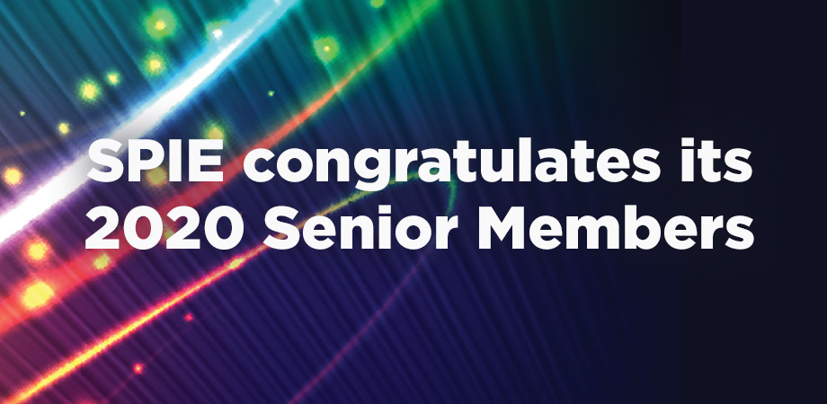 SPIE, the international society for optics and photonics, welcomes 74 new Senior Members