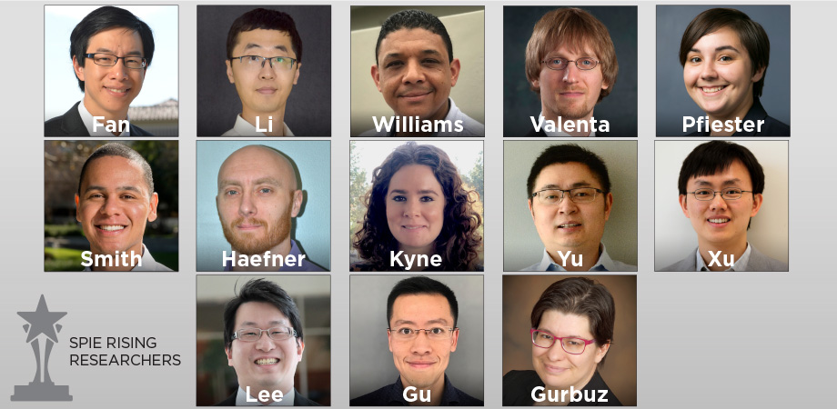 SPIE Announces Its 2020 DCS Rising Researchers