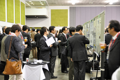 Poster session at SPIE Advanced Lithography