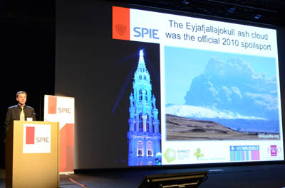 SPIE Photonics Europe welcome JPEG