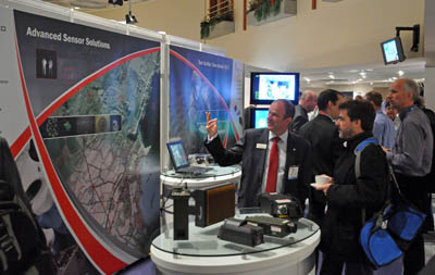 Exhibit at SPIE Security + Defence 2013