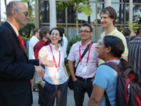 Early Career Professionals social at SPIE Optics+Photonics 2009