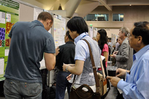 Monday evening poster session