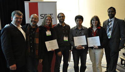 Photo of JenLab Best Poster Awards