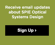 Receive email updates about SPIE Optical Systems Design