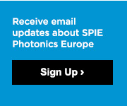 Sign up for email updates about SPIE Photonics Europe