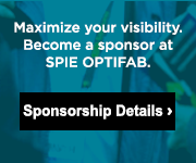 Become a sponsor at SPIE Optifab