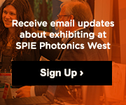 Learn more about exhibiting at SPIE Photonics West