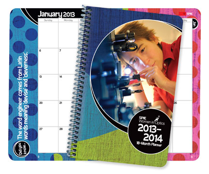 Women in Optics 2013 Planner