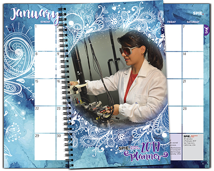 Women in Optics 2017 Planner