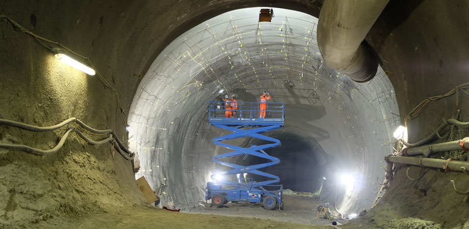 DFOS was used extensively in London's Crossrail tunnels.
