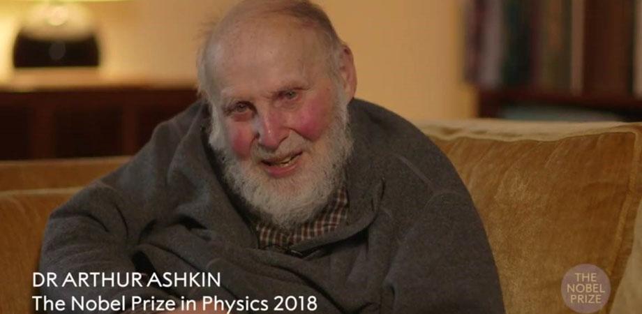 Arthur Ashkin was awarded the 2018 Physics Nobel Prize