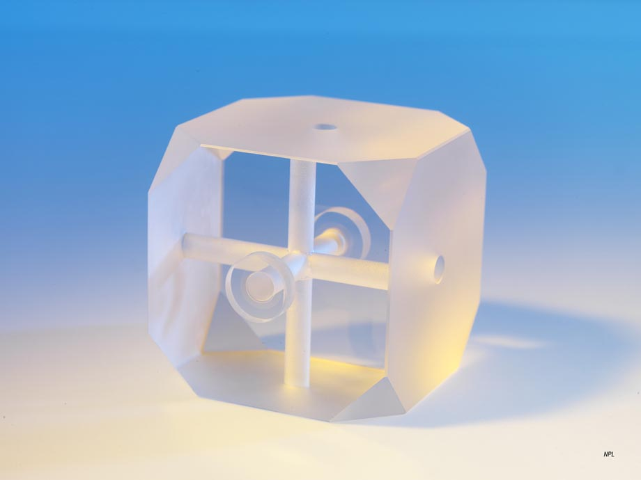 NPL_optical stabilizing reference cavity cube