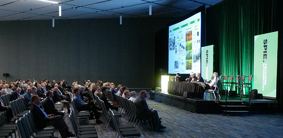 Panel and audience at SPIE Advanced Lithography 2020