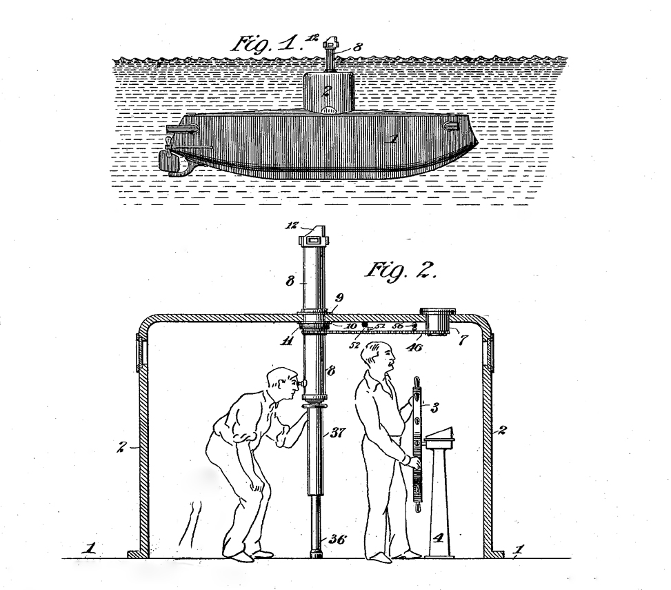 Fig 2 from Lake, Simon - Observing-tube for submarine boats