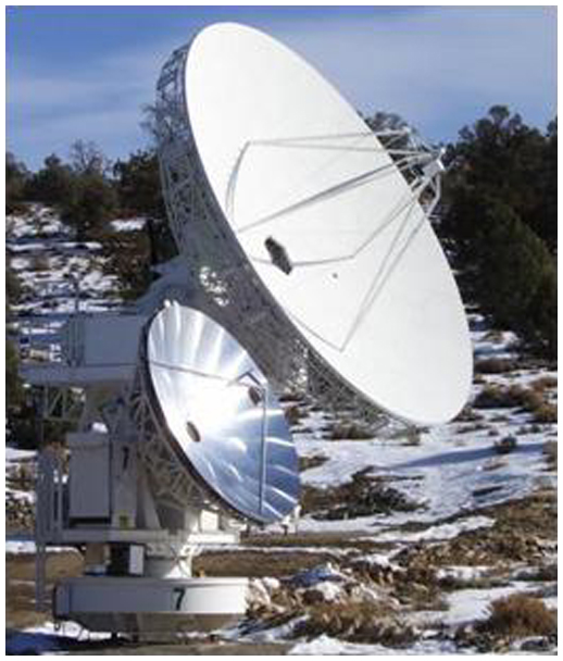 Beating atmospheric scintillation at millimeter and