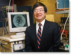 MIT's James Fujimoto, co-inventor of OCT