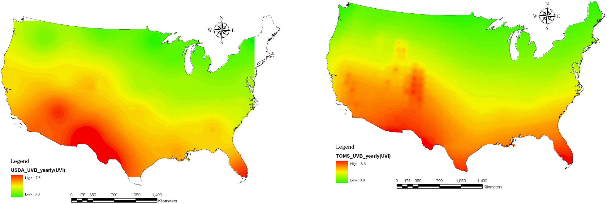 Four Sites Where You Can Monitor US Radiation Levels Annual Solar - Us radiation map
