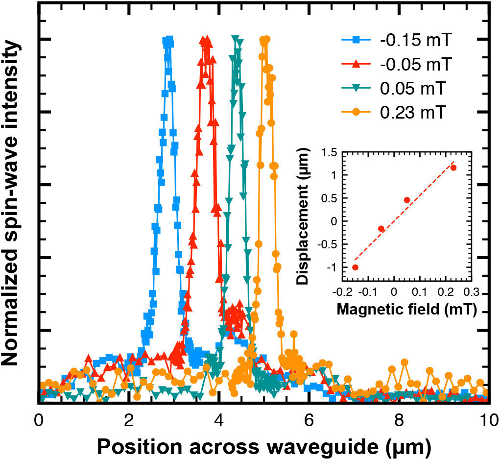 Magnetic domain walls as controllable spin-wave nanochannels