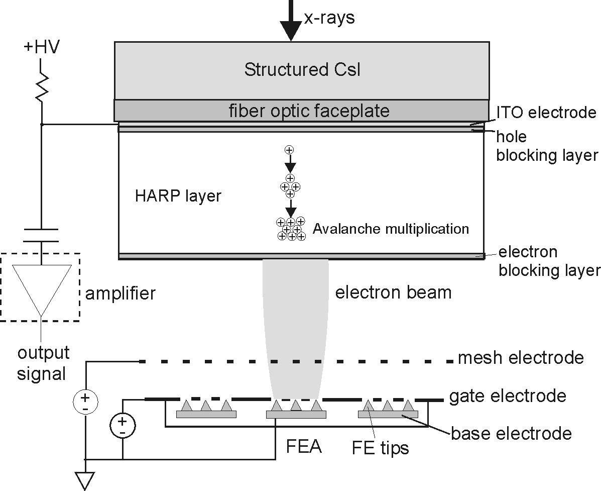 A novel flat-panel imager for medical x-rays