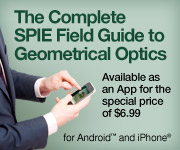 The complete Field Guide to Geometrical Optics is now available as an iPhone app