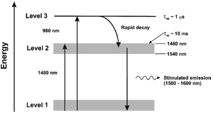 Brief review of optical fiber amplifiers