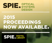 Browse SPIE Proceedings from Optical Systems Design