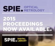 Browse SPIE Proceedings from Optical Metrology