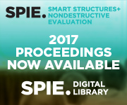 Browse SPIE Proceedings from SPIE Smart Structures/NDE