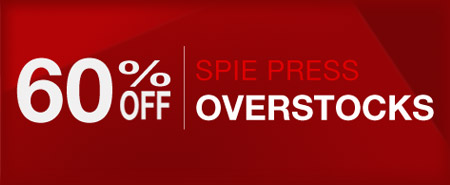 Save 60% on overstocked SPIE Press books