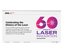 Laser 60th Anniversary Room Slide