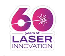 Laser 60th Anniversary Sticker