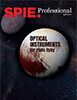 cover of April 2017 SPIE Professional magazine